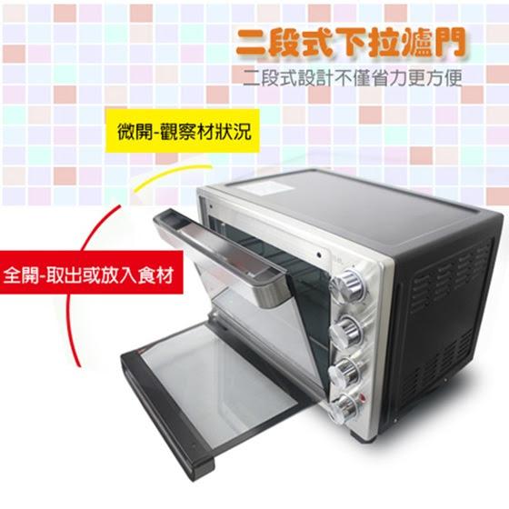 Panasonic國際牌/360°/自動旋轉/燒烤32L/雙溫控/發酵烤箱/(NB-H3200) /贈食譜