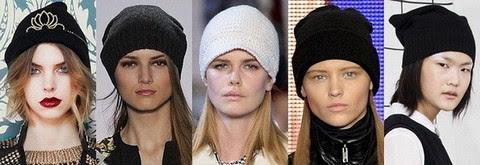 Женские трикотажные шапки