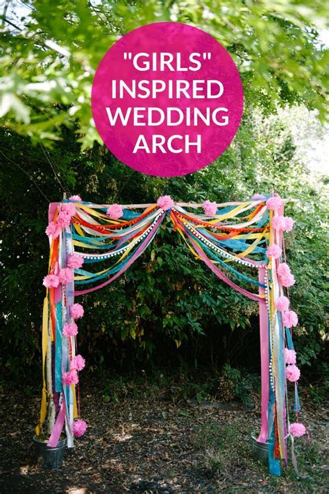 """Make This """"Girls"""" Inspired Wedding Arch   Practical"""