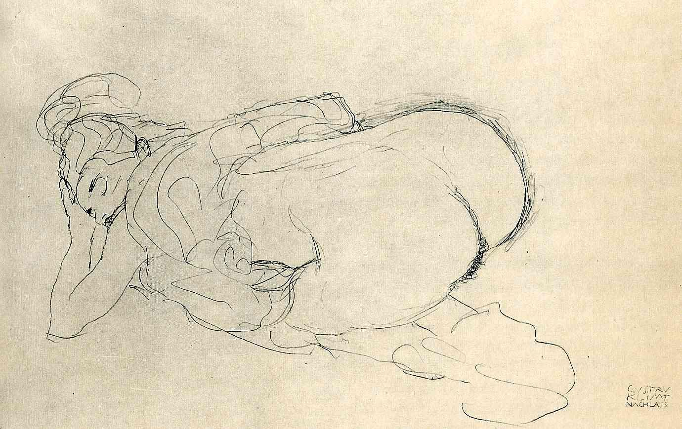 Gustav Klimt erotica sensual22