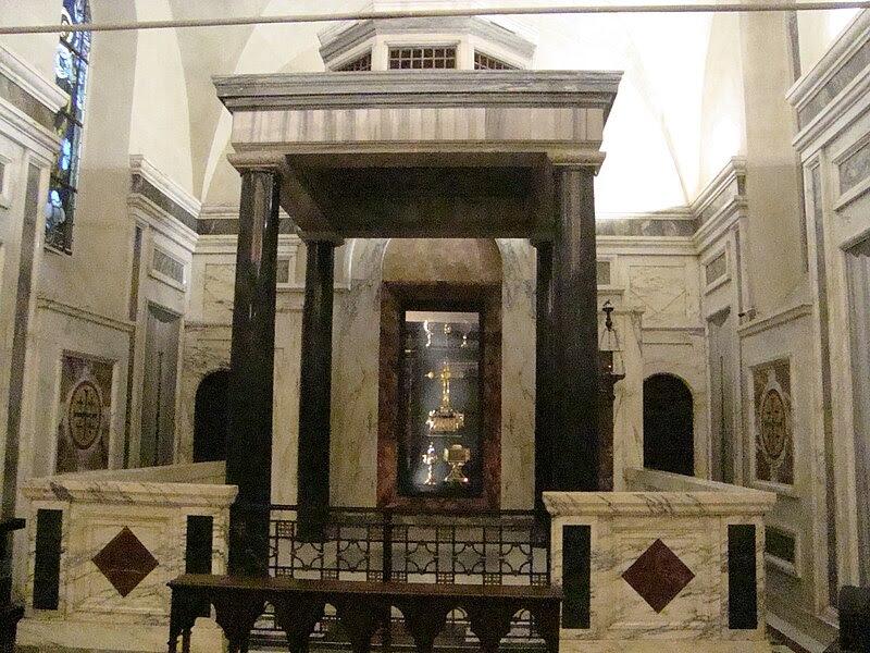 File: Chapelle des reliker de Santa Croce in Gerusalemme.JPG