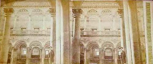 Fotografía estereoscópica de Toledo. Alcázar por Alfonso Begué
