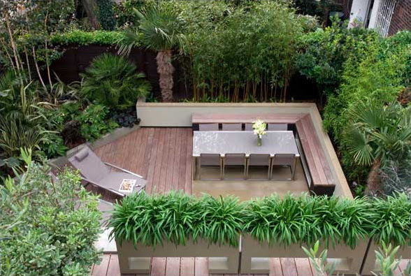 Small backyard ideas landscaping zones