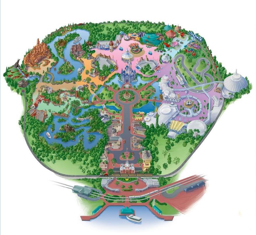 walt disney world magic kingdom map. Magic Kingdom® Park
