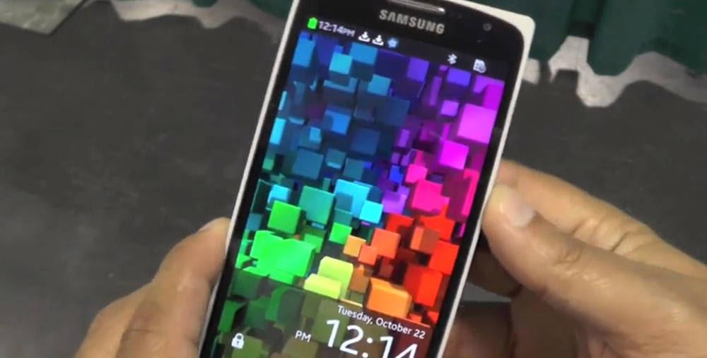 Samsung Z9005 execução Tizen OS