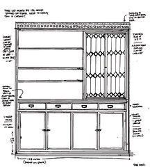 Built-in : Millworkdrawing