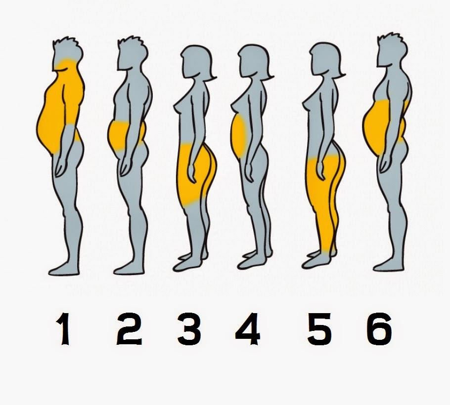 Como eliminar la grasa de cada parte del cuerpo