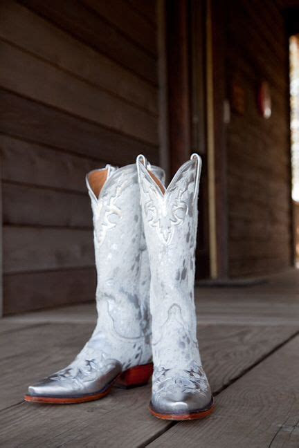 White cowboy boots   my *wait for it* wedding!   White