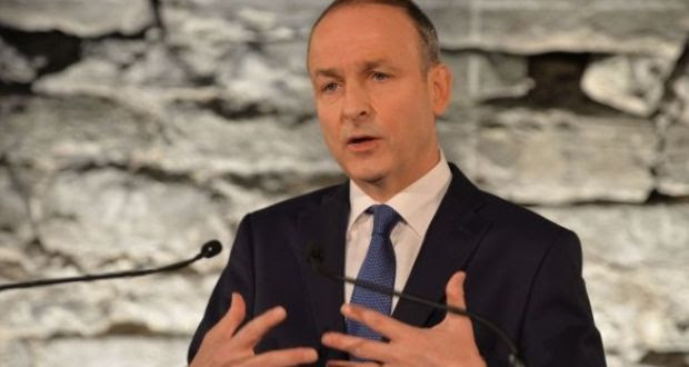 FF leader Micheál Martin has been unequivocal about not going into coalition with Sinn Féin. Photograph: The Irish Times