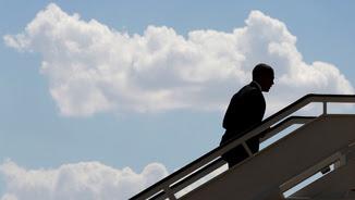 Obama puja a l'Air Force One amb destí a la base naval de Rota (Reuters)