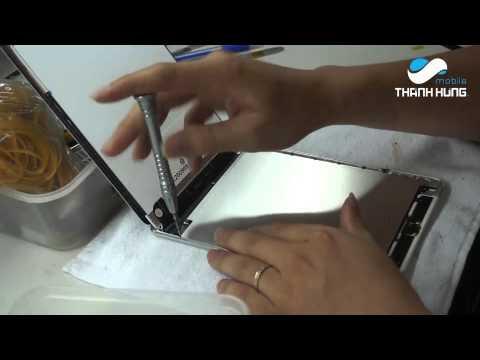 Cách thay mặt kính ipad mini 2 hiệu quả