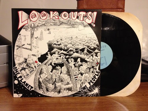 Lookouts - One Planet One People LP by Tim PopKid