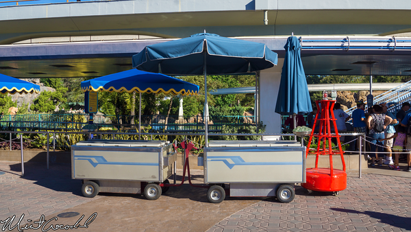 Disneyland Resort, Disneyland, Finding Nemo Submarine Voyage, Outdoor Vending Cart, ODV