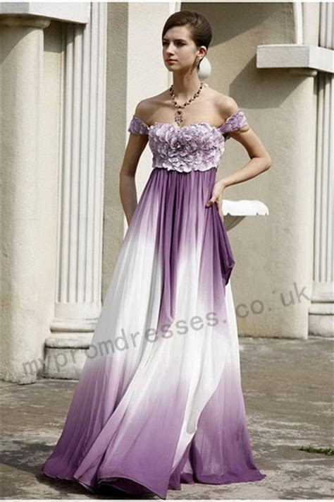 A Wedding Addict: purple and white wedding dresses