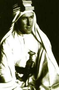Thomas Edward Lawrence, meglio conosciuto come Lawrence d'Arabia