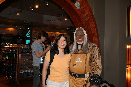 Me and a Klingon