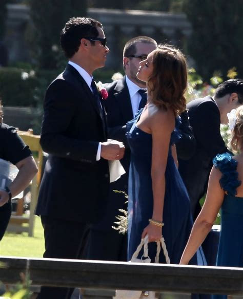 Jessica Alba and Cash Warren Attend Pals Wedding   Zimbio