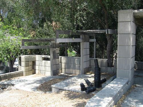 Barnsdall Art Park - Schindler's Terrace