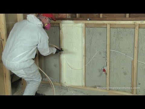 How To Install Spray Foam Insulation