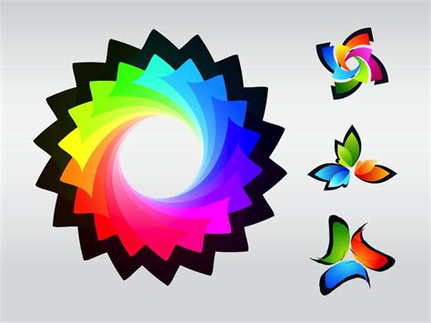 colorful logos vector art graphics freevectorcom