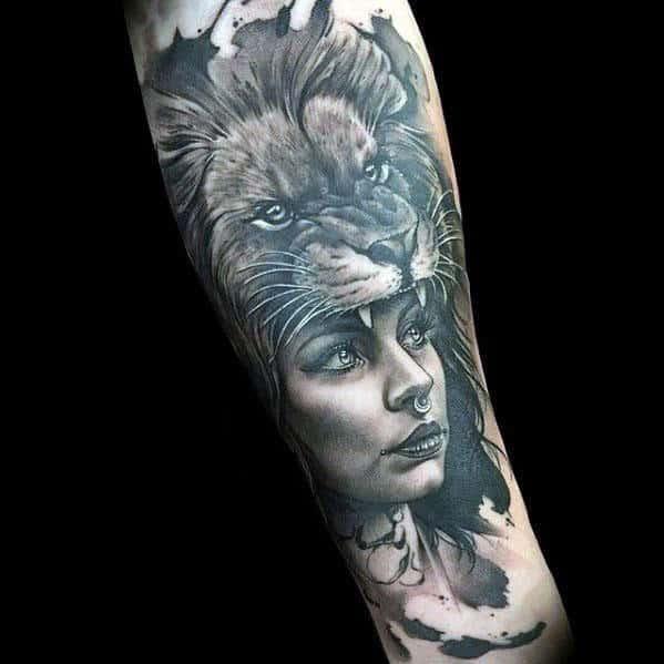 50 Realistic Lion Tattoo Designs For Men - Felidae Ink Ideas