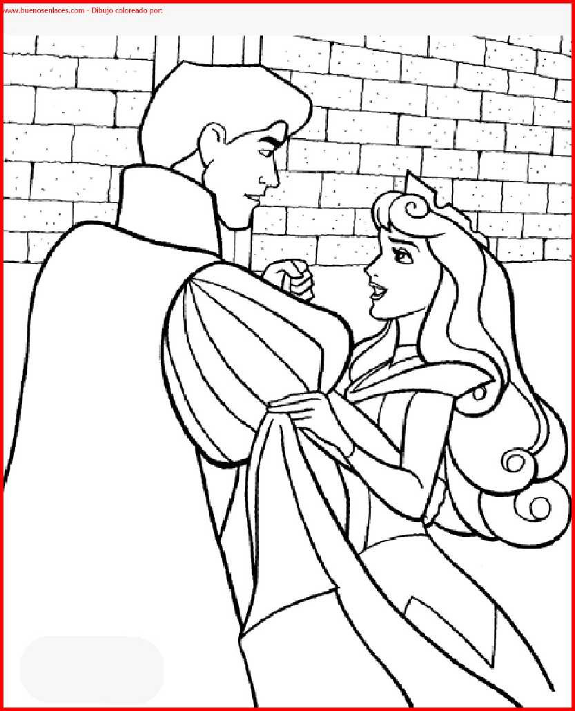 Dibujo De Princesa Disney Para Colorear E Imprimir