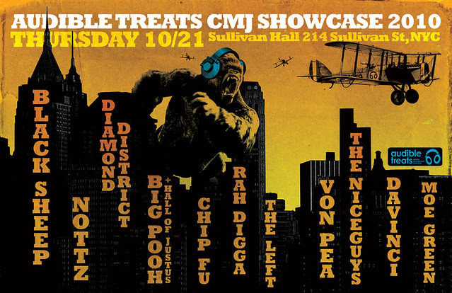 Audible Treats CMJ Showcase 2010