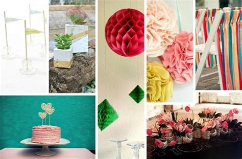 15 decorating ideas to make your own wedding flowers