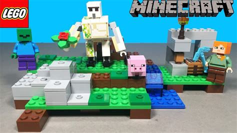 lego minecraft demir golem oyuncak seti sueper