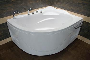 Box doccia Italia: Vasca semicircolare ad angolo cm ...