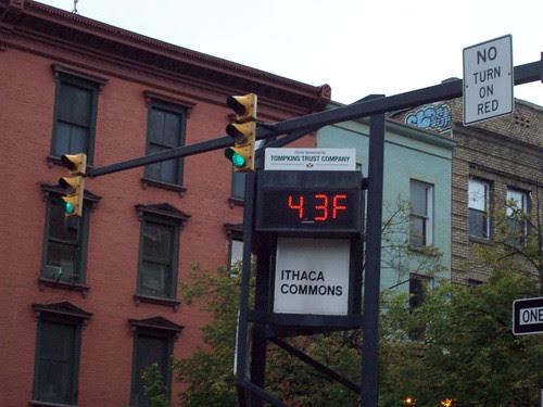 Ithaca: Brrrr!