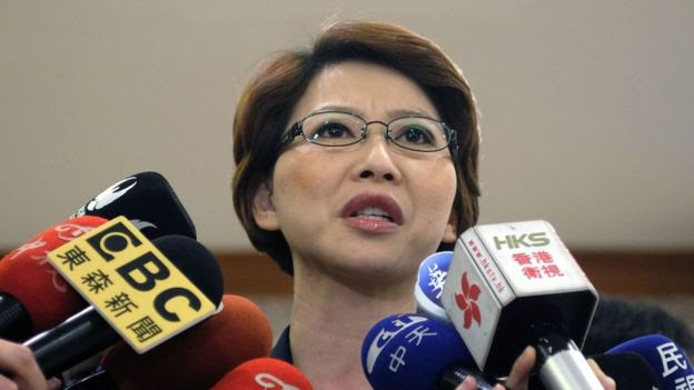 Photo of Chen Ting-fei, a lawmaker from the DPP