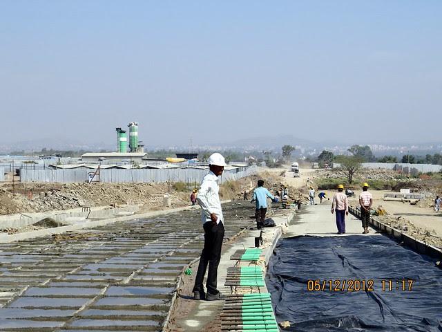 6 Lane Concrete Road - Development in the 1st Year - Kolte-Patil Life Republic Marunji, Hinjewadi - Kasarsai Road, Pune 411057