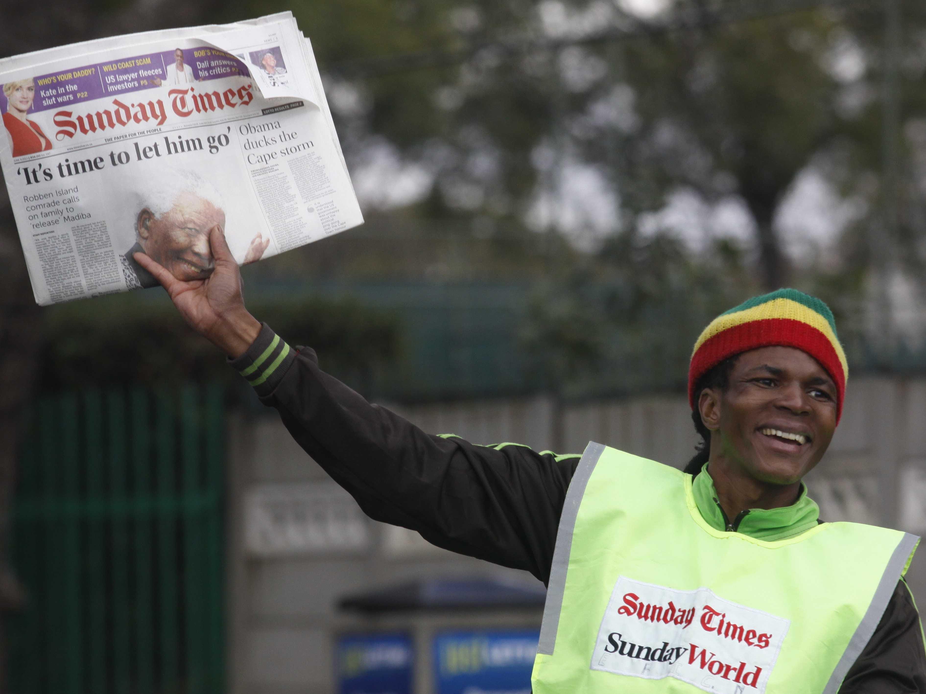 Sunday Times Mandela