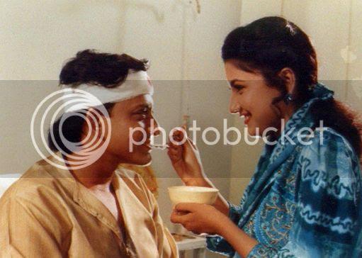 Still from Rakhi Bhijigala Akhi Luhare featuring Sidhant & Rachana