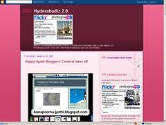 Mosaic Map of Hyderabadiz @ Flickr