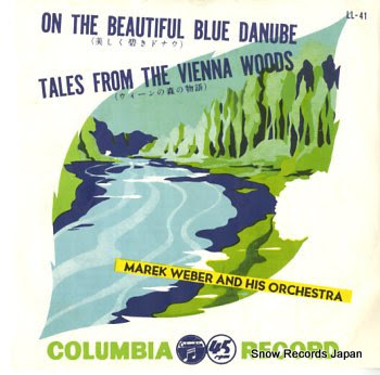 WEBER, MAREK strauss; on the beautiful blue danube
