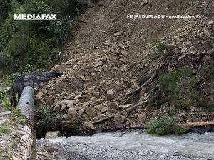 Suceava: Alunecări de teren în comuna Brodina (Imagine: Mediafax Foto)
