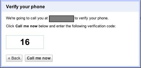 Verify your phone