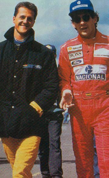 Ayrton Senna or Michael Schumacher? - sennasite.weebly.com