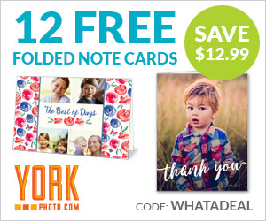 12 Free Folded Note Cards – Save $12.99!