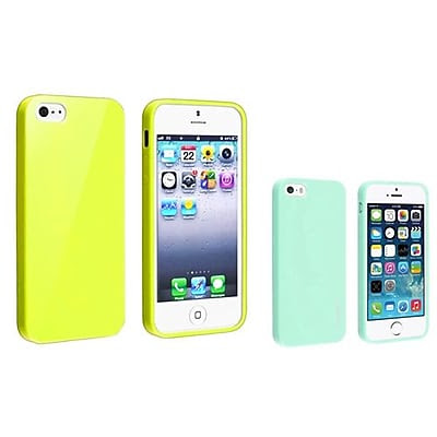 Insten 833431 2-Piece iPhone Case Bundle For Apple iPhone 5/5S