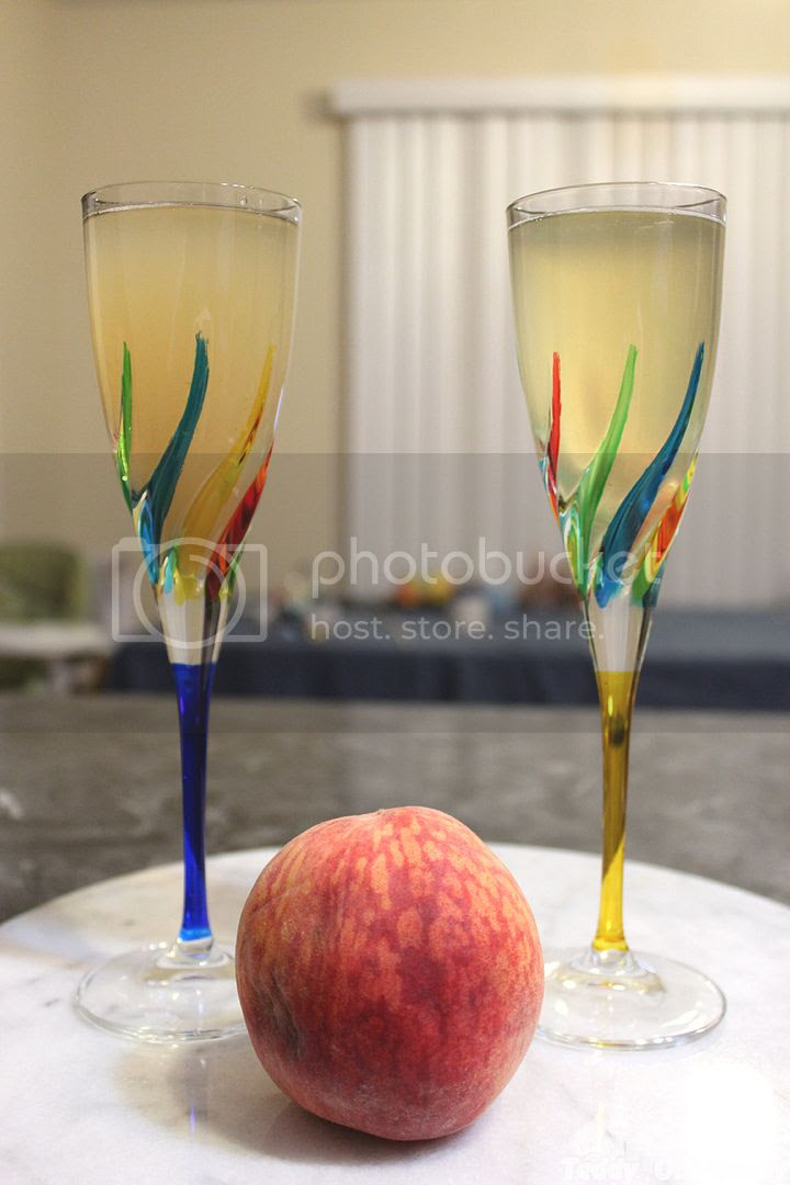 Health Peach Bellini