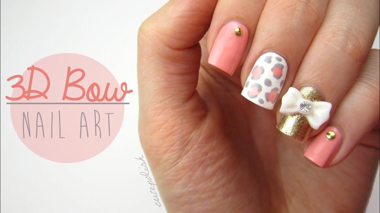 Nail Designs On Pinterest 3d Nails Art 3d Nail Designs And 3d Nails