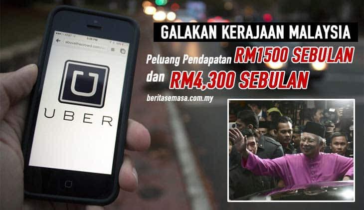 pendapatan pemandu uber malaysia
