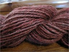 Pomegranate Alpaca yarn