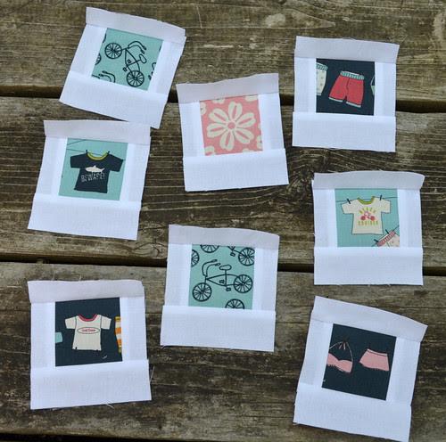 Polaroid Blocks - a new swap