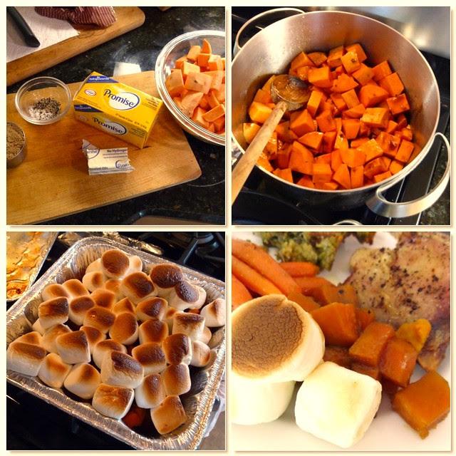 Sweet Potato Casserole with Promise Margarine