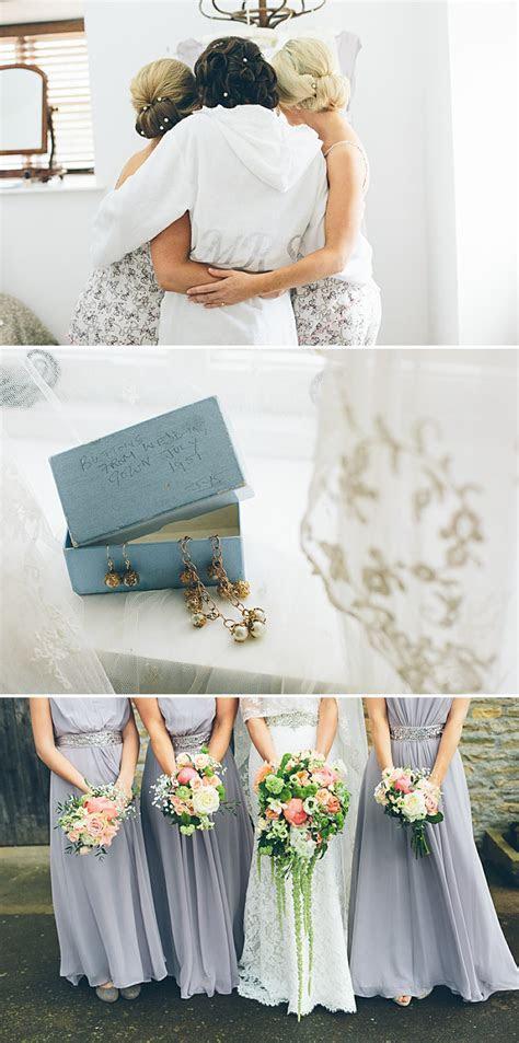 An English Garden Marquee Wedding With Blue Manolo Blahnik