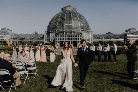 Belle Isle Conservatory Wedding in Detroit, MI   Kari